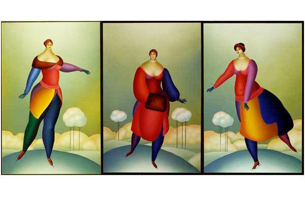 Winter II Triptych