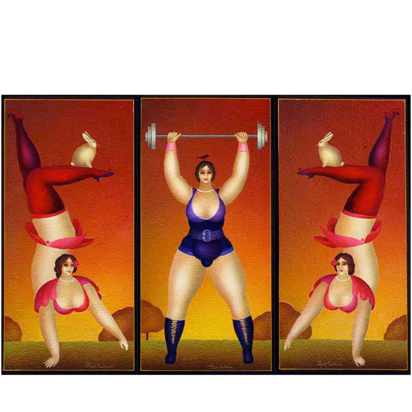 Circus Triptych