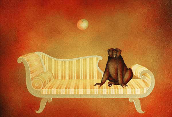 Monkey on Couch