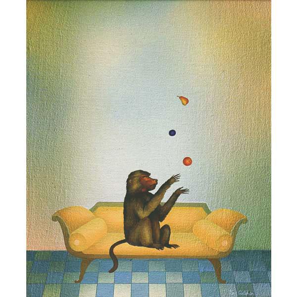 Juggling Monkey