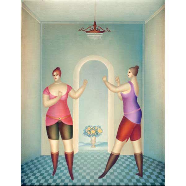 Boxing Girls – Large