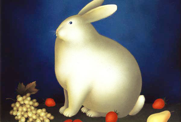 Rabbit with Fruit