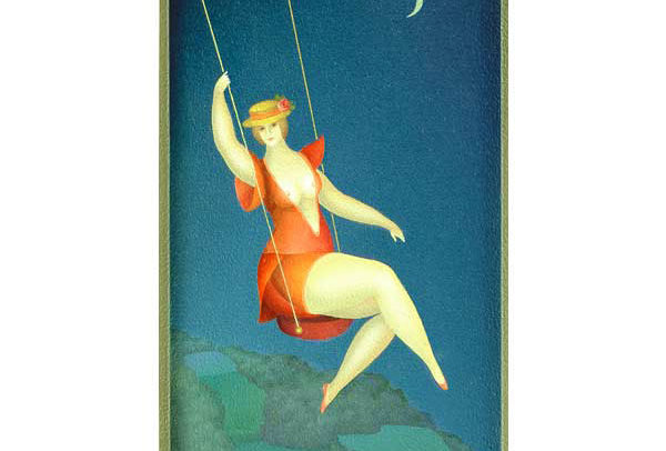 Woman Swinging