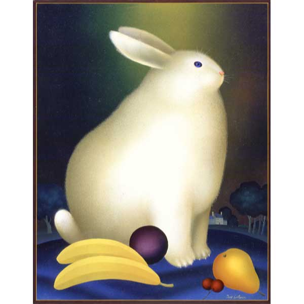 Rabbit with Bananas