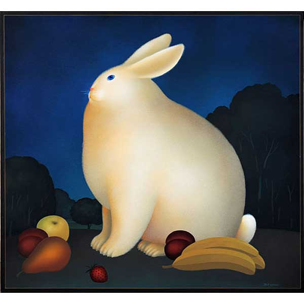 Rabbit with Bananas II
