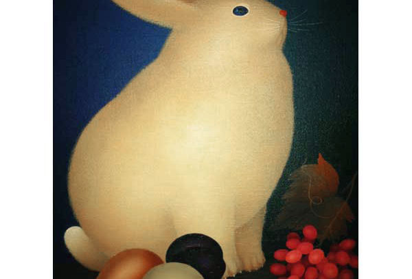 Rabbit with Red Grapes
