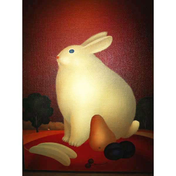 Rabbit with Plums