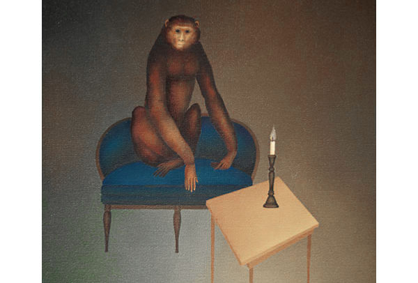 Monkey on Chair