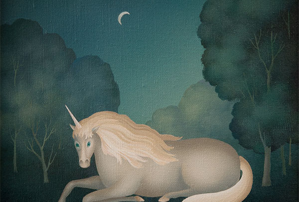 Unicorn at Night