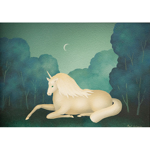 Unicorn at Night II