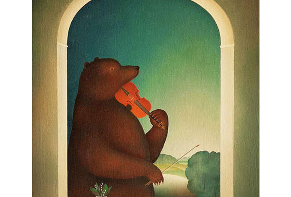 Bear Playing the Violin II