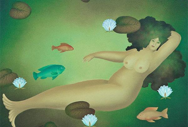 October Mermaid