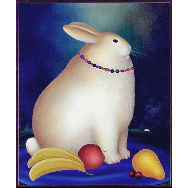 Rabbit with Necklace