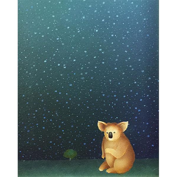 Koala in the Stars
