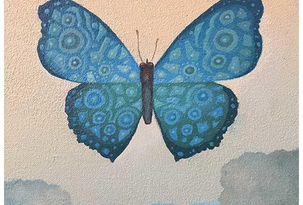 324 Blue Butterfly