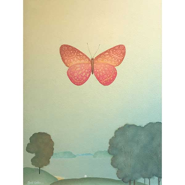 326 Pink Butterfly